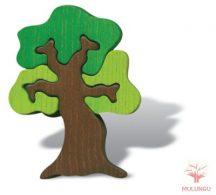 Térbeli kirakó - lombos fa
