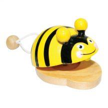 Kasztanyetta D - méhecskés