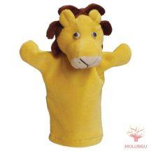 Báb - oroszlán, 3 ujjas, plüss