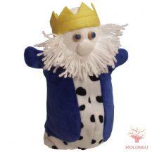 Báb - király, 3 ujjas, plüss