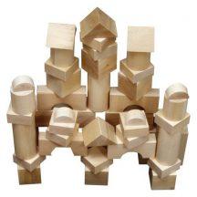 Óriás építőkocka  44db - natúr 7