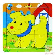 Kirakó / puzzle 9 - kutyás