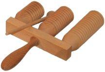 Agogó - nyeles fadob, 3 hangú