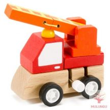 Felhúzható kisautó - tűzoltó