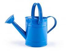 Fém öntözőkanna - kék