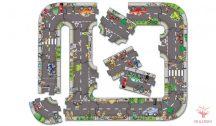 Utak játszószőnyeg-kirakó - 20 darabos - OR286