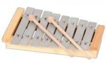 Metalofon - 1 oktávos (hangolt)