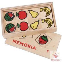 Memóriajáték - gyümölcsös