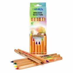 Lyra Super Ferby - Waldorf selection - színes ceruza (6-os készlet)