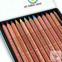 Mercurius Colour Giants 12-es ceruzakészlet fémdobozban