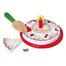 Szeletelhető / tépőzáras torta