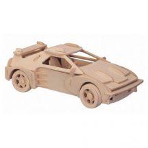 3D puzzle (natúr) - Ferrari