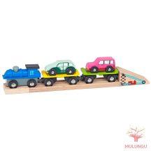Autószállító vonat