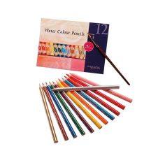 Akvarell ceruza (12-es készlet + ecset)
