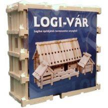 LOGI-VÁR fa építőjáték