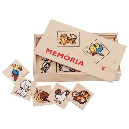 Memóriajáték - állatos