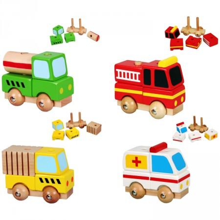 Építhető / szétszedhető járművek