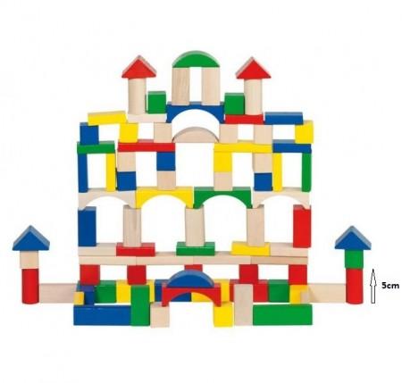 Fa építőkockák