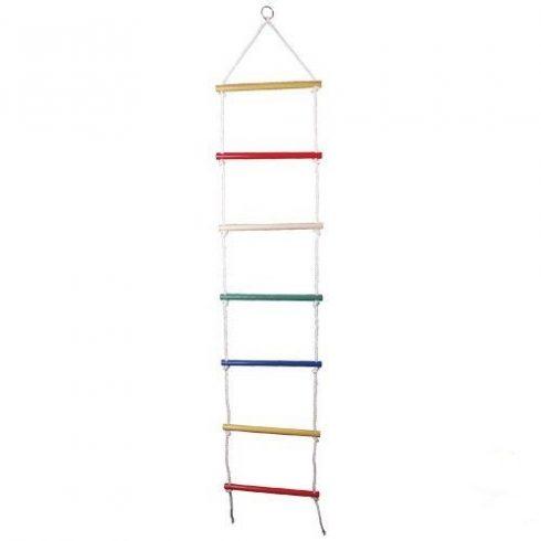 Kötéllétra, színes - 7 fokos