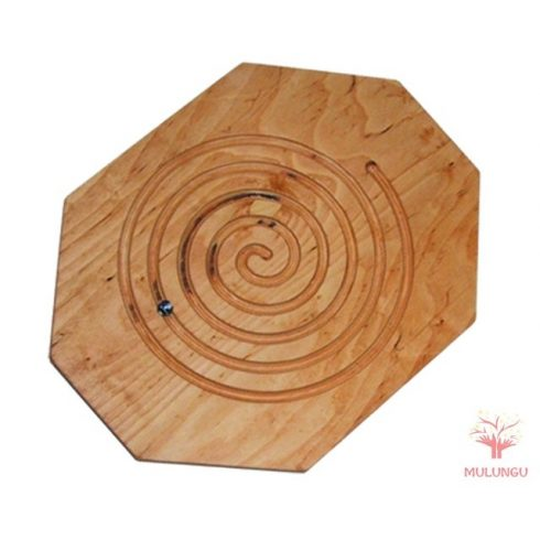 Egyensúlyozó - spirál - natúr