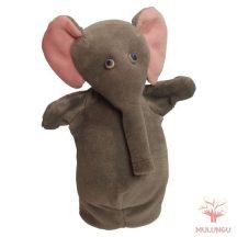 Báb - elefánt, 3 ujjas, plüss