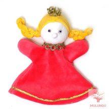 Báb - királylány, 3 ujjas, plüss