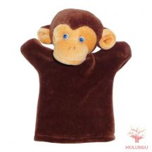 Báb - majom, 3 ujjas, plüss