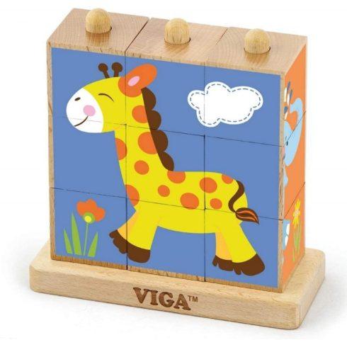 Montessori képkirakó - rovaros
