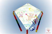 Invento Eddy Kid's Creation - rajzolható papírsárkány