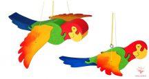 Lengő / Mozgó játék - papagáj (14409)