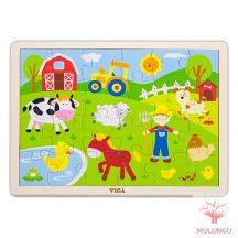 Kirakó / puzzle 24db-os - farmos