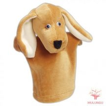 Báb - kutya,  vizsla, 3 ujjas, plüss