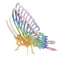 3D puzzle (színes) - Pillangó