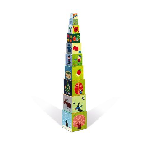Bábel torony - Négy évszak piramis - J02917