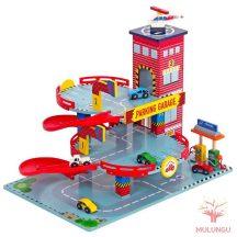 Parkolóház / Garázs - 2 emeletes - Tűzoltóság - MT3381