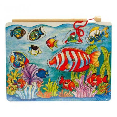 Mágneses laphorgász - halas