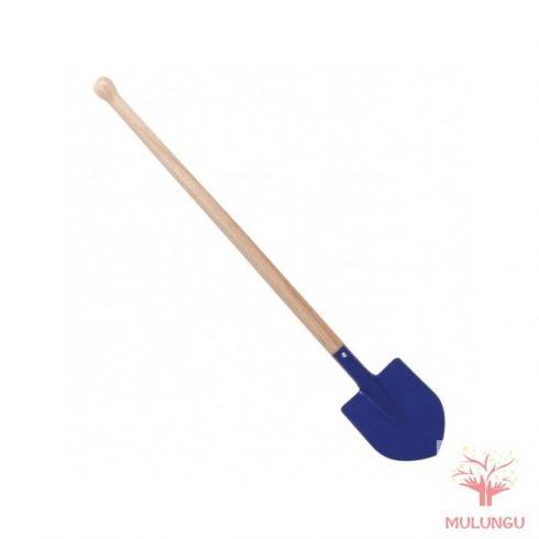 Gyermek kerti szerszám - kék hegyes ásó, 70 cm-es nyéllel