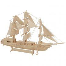 3D puzzle (natúr) - hajó