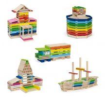 Kreatív építőjáték (250db-os)