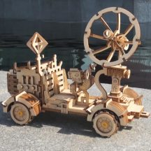 Mechanikus famodell - holdjáró