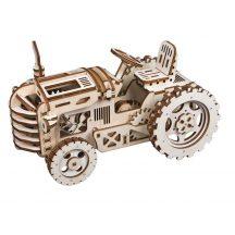 Mechanikus famodell - traktor