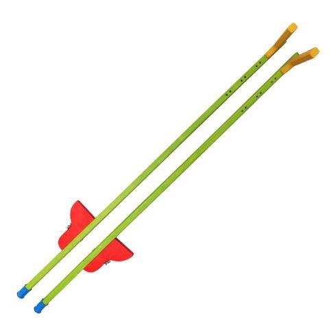 Gólyaláb 140cm - színes