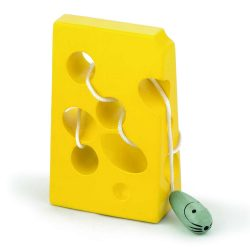 Fűzős játék- sajt egérrel